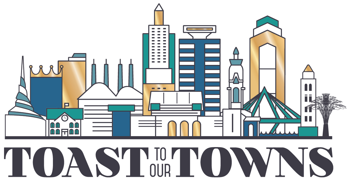 Toast to Our Towns logo